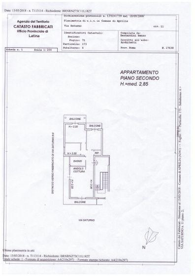 Quadrilocale in vendita, via Saturno  27, Aprilia