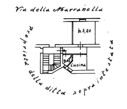 Bilocale in vendita, via della Marranella  74, Torpignattara, Roma