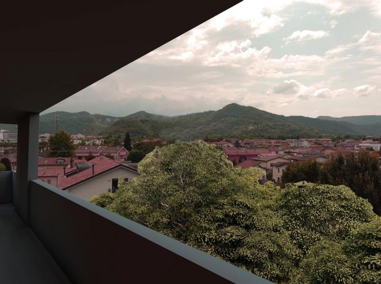 Attico in vendita, via Gaetano Donizetti, Montegrotto Terme