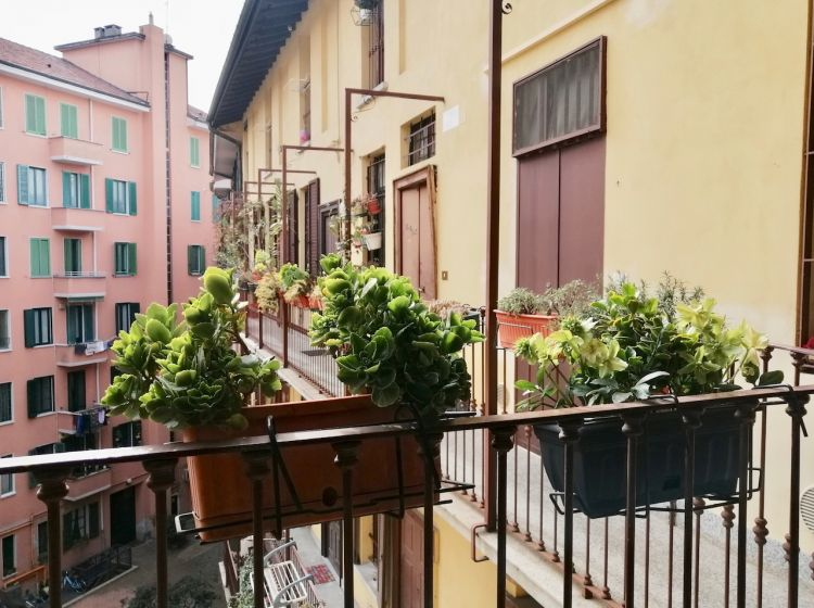 Bilocale in affitto, via Ruggero di Lauria  9, Sempione, Milano