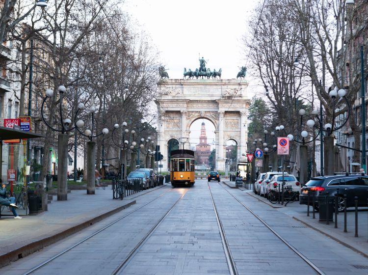 Bilocale in vendita, via Domenico Cirillo  14, Arco della Pace, Milano
