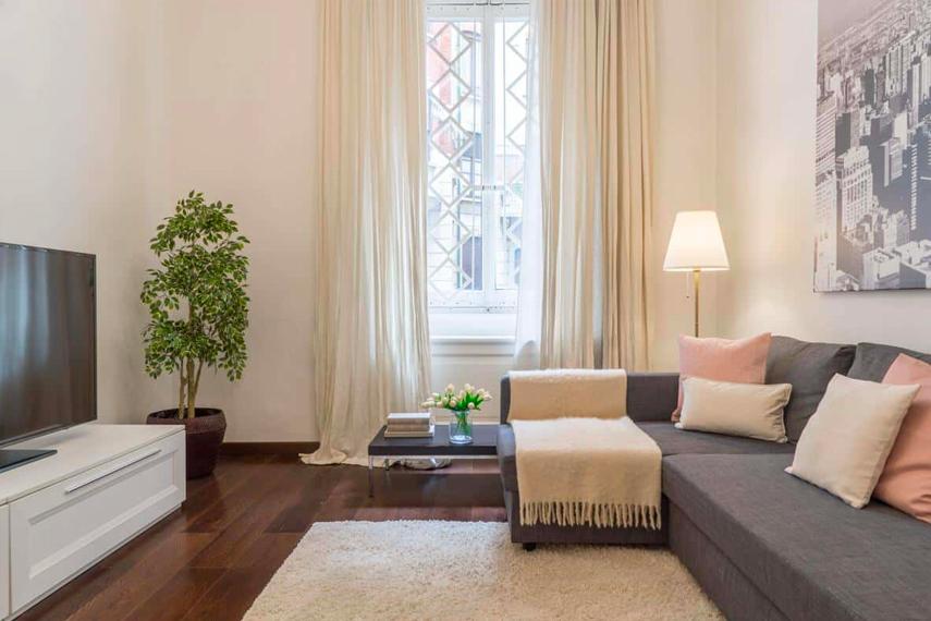 Appartamento ben curato e ordinato
