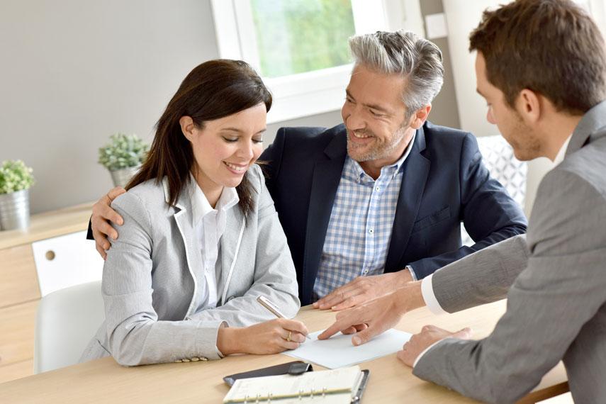 Coppia vende la propria casa grazie ad un agenzia immobiliare