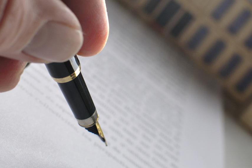 Registrazione di un atto immobiliare