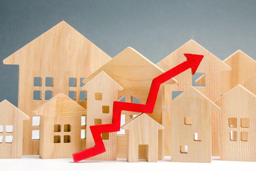 Aumento dei prezzi delle case